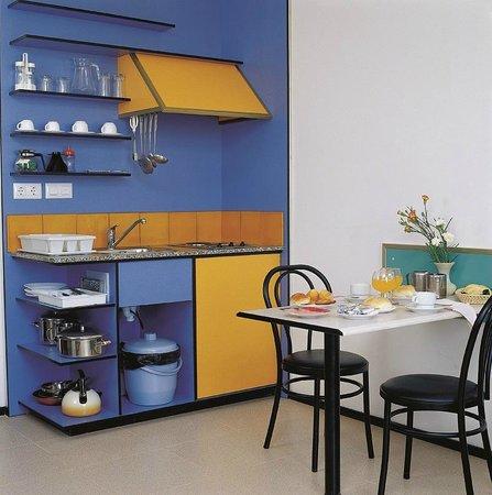 Apartaments Xaine Sun: Cocina