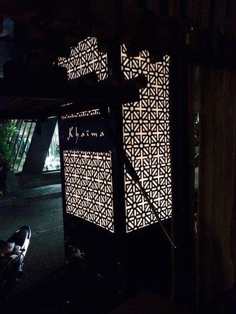 Khaima Restaurant: Khaima calls.