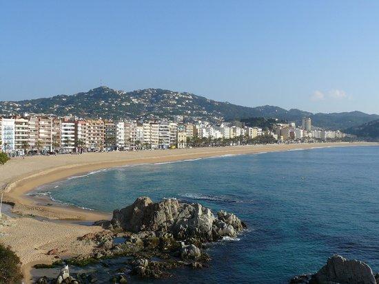 Apartaments Xaine Sun: La playa principal
