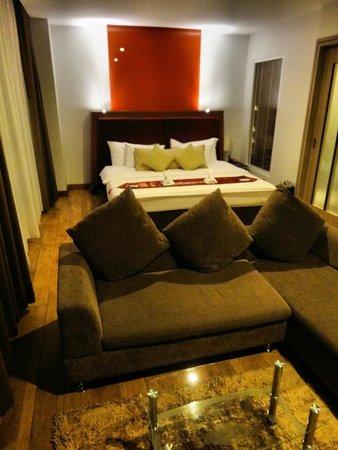 Prajaktra Design Hotel : Notre chambre 1