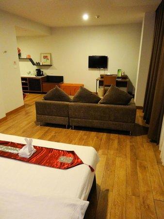 Prajaktra Design Hotel : Notre chambre 2