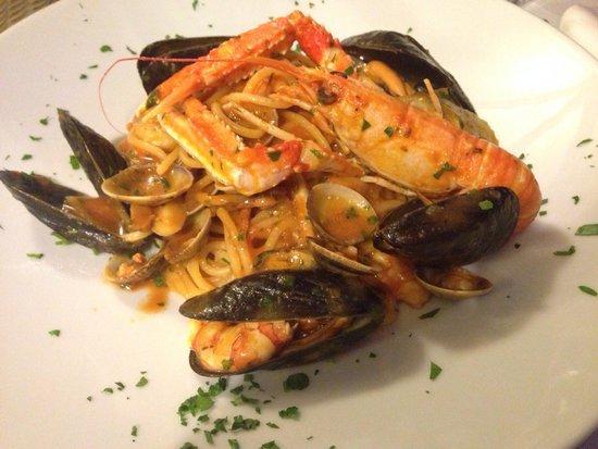 Trattoria Al Mare : Spaghetti allo scoglio