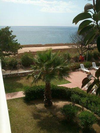 Palmera Beach Apartments: Vista desde el apartamento