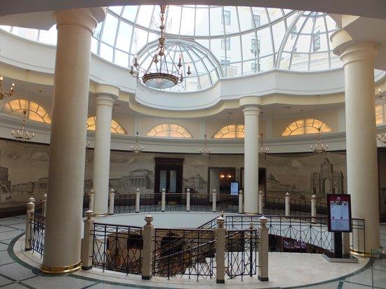 Moscow Marriott Grand Hotel: Main lobby area