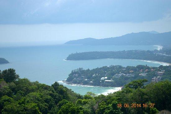 Karon View Point : THE VIEW