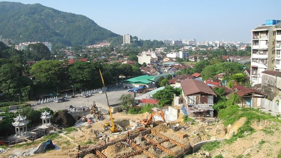 Temple de Kek Lok Si : The view from midway