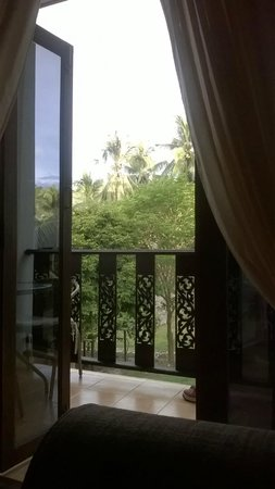 Woodlawn Villas: view in the morning