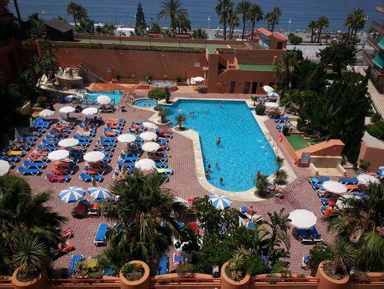 Almunecar Playa Spa Hotel : VISTAS DESDE LA HABITACIÓN