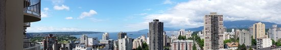 Sandman Suites Vancouver - Davie Street: panoramic view from room