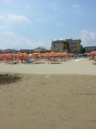Hotel Estate : Spiaggia e hotel