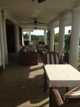 La Villa des fées : Terrasse