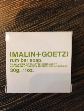 Mainport Hotel : Soap