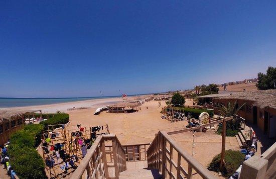 Kiteboarding Club El Gouna: View