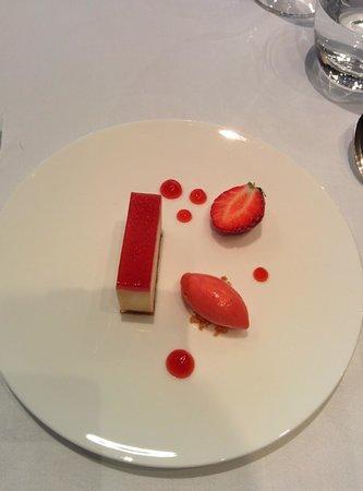 The Square : Brillat-Savarin cheesecake