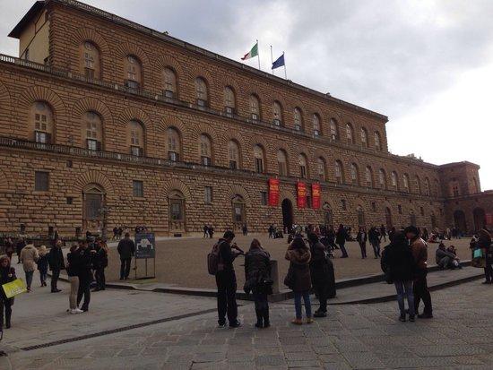 Palais Pitti : Piazza e palazzo