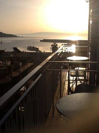 Hotel Villa Nefele: la vue du balcon de la chambre