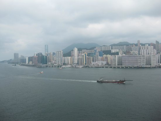 Harbour Grand Kowloon: View of the harbour from the room