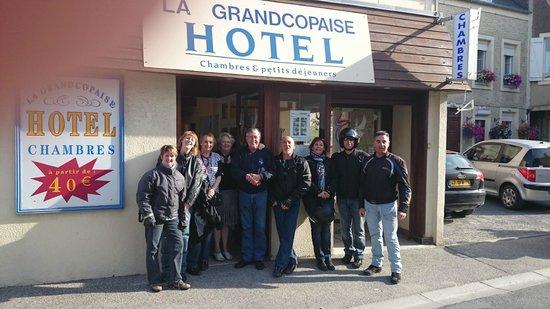 Hotel La Grandcopaise: Photo de groupe
