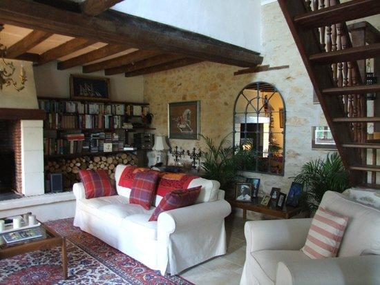 La Gaudiniere: Sitting Room