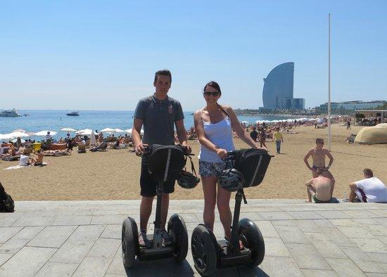 Barcelona Segway Glides: Barcelona Segway tour