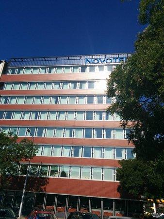 Novotel Budapest Danube: Outside the Hotel