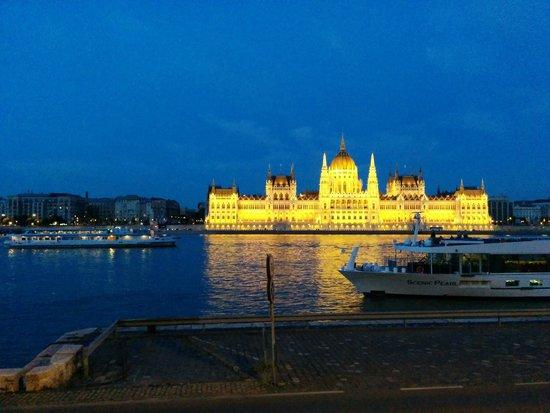 Novotel Budapest Danube: Parliament again