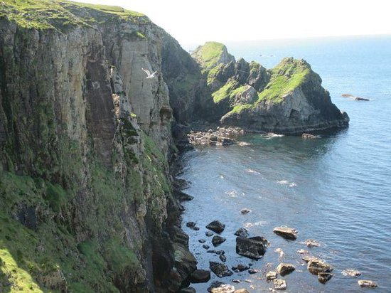 Ireland By Bike: Near Glencolmcille, wonderful hiking