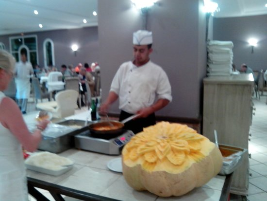 Vincci Resort Djerba : Spesesaal (ganz kleiner Ausschnitt)