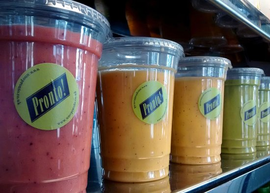 Stay healthy and try UNo Pronto smoothie!