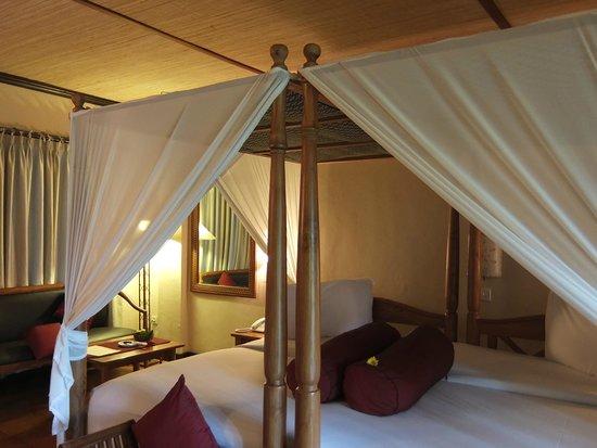 Junjungan Ubud Hotel and Spa: literie