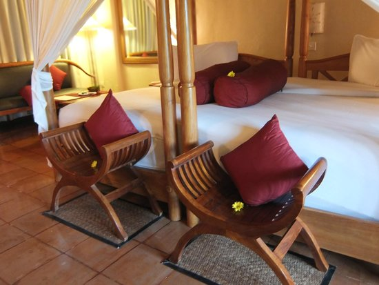 Junjungan Ubud Hotel and Spa: chambre