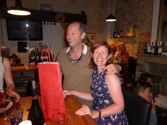 Le Wine Bar: another birthday gift