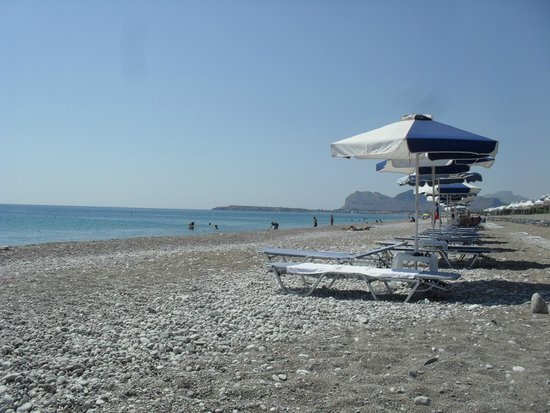 Rodos Star Hotel: Beach