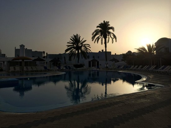 Homere Hotel : Coucher de soleil