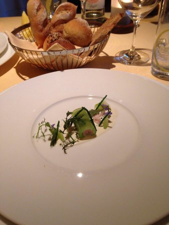 The Dining Room at Whatley Manor: Amuse bouche