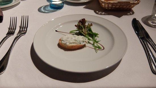 Ristorante Amarone: Complementary starter