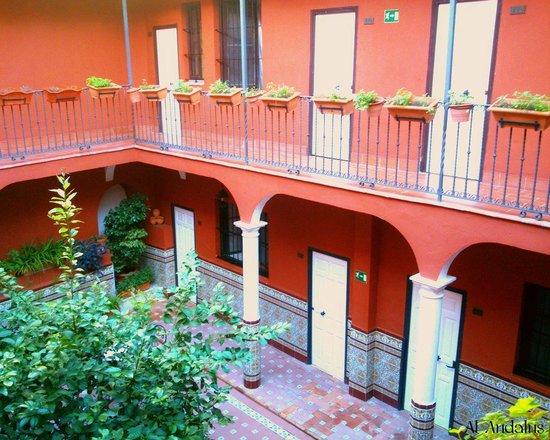 Al Andalus Jerez: El patio abierto