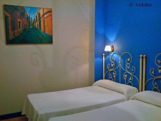 Al Andalus Jerez: Habitacion Doble