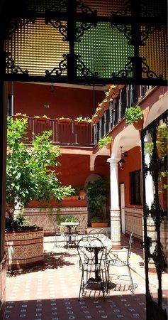 Al Andalus Jerez: Patio abierto