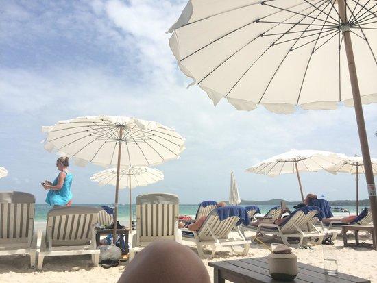 Sai Kaew Beach Resort: Hotel beach