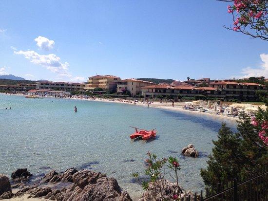 Hotel Gabbiano Azzurro: Strand