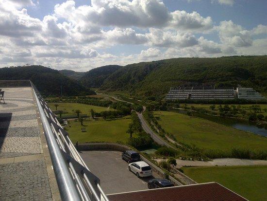 Ô Hotel Golf Mar: Vista do terraço do restaurante