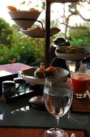 Four Seasons Resort Bali at Jimbaran Bay : Wonderful food