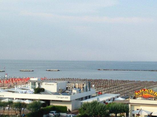 Hotel Bisanzio: Splendido panorama dal 3° piano