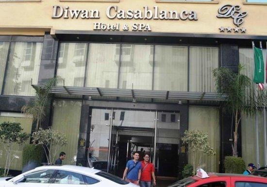 Hotel Diwan Casablanca : Hotel Diwan's Facade 1