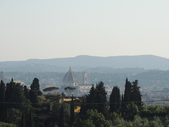 Villa Jacopone: View of Florence from our balcony