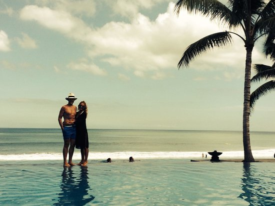 The Legian Bali: One of 3 levels of pool
