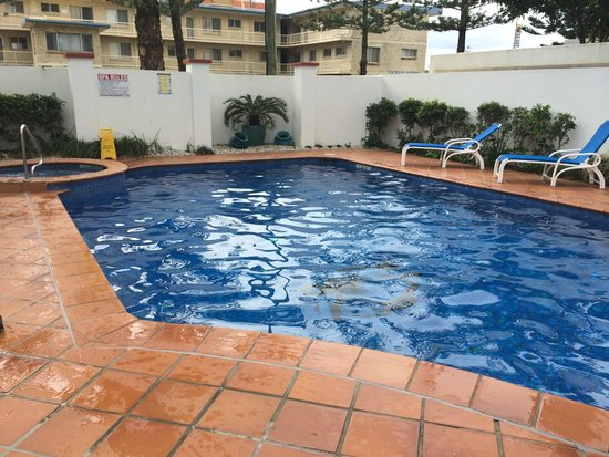 The Ritz Resort: Nice size pool, heated well