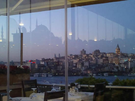 Hamdi Restaurant : the other side of the river