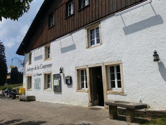 Auberge de la Couronne: Eingang